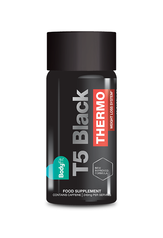 Bodyfit T5 Black Thermo Fat Burner