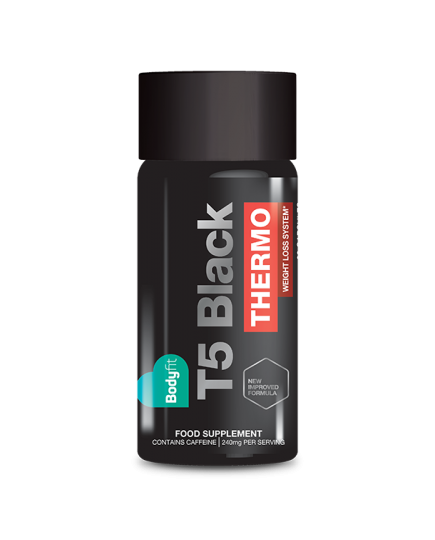 Bodyfit T5 Black Thermo Fat Burner